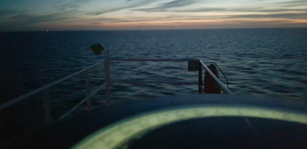Scherming voor zonsopkomst in het Noorden